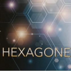 Papel de Parede - Hexagone