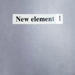 Papel de Parede - New Element I